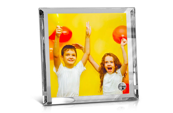 "Crystal Photo Frame - 12"" x 12""