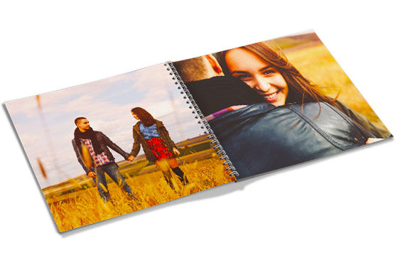 "8"" x 8"" - Spiral Photo Book (20 pages)