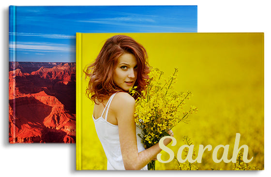 2 Photo Books 11'' x 8.5'' 20 pages