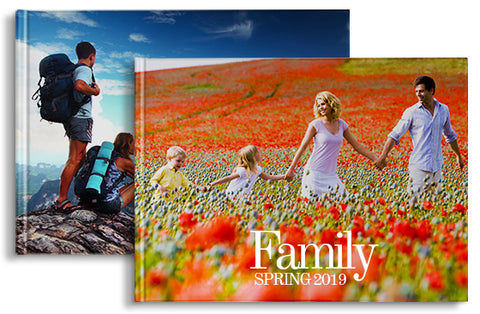 2 Photo Books 11'' x 8.5'' 40 pages