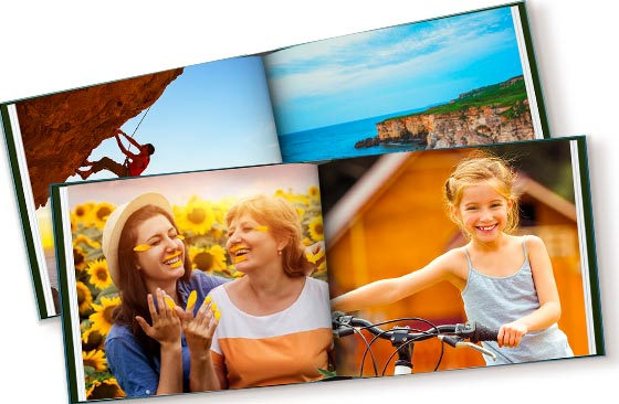 11'' x 8.5'' - 2 Photo Cover Books|11'' x 8.5'', 20 pages|66|blackfriday-18