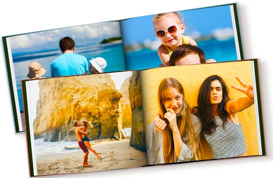"11"" x 8.5"" - 2 Hardcover Photo Books (60 pages)