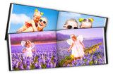 2 Leather Photo Books 11'' x 8.5'' 20 pages