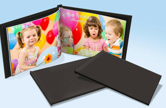 "11"" x 8.5"" Leather Photo Book  (20 Pages) x 2