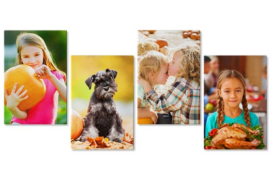 "4 Photo Canvases - 16"" x 20""