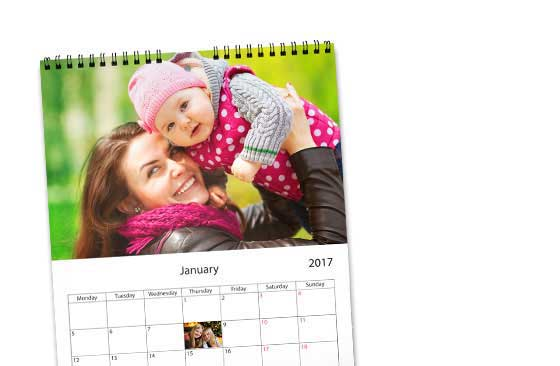 "11.7"" x 16.5"" Wall Calendar