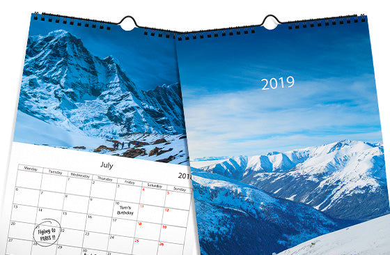 "Wall Calendar|11.7"" x 16.5""