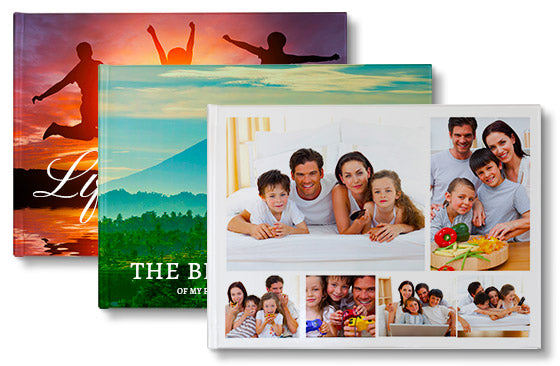 "3 Photo Books - 11"" x 8.5""