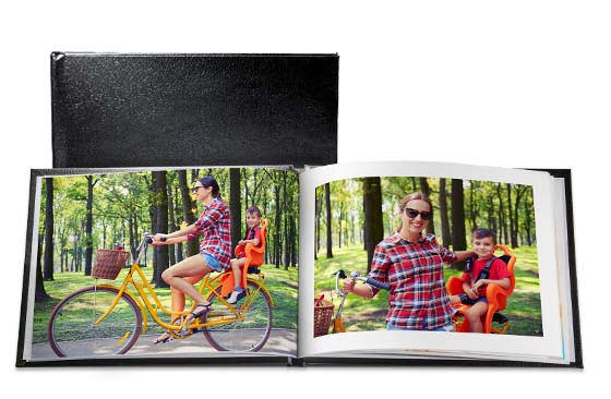 11'' x 8.5'' Leather Photo Book (40 Pages) x 2|76|Wintersale