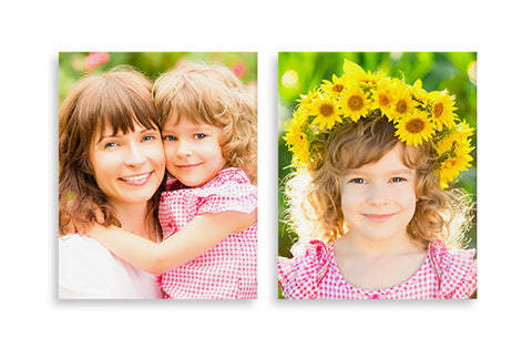 2 Photo Canvases 11'' x 14''