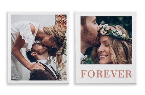 2 Photo Canvases 30'' x 40''