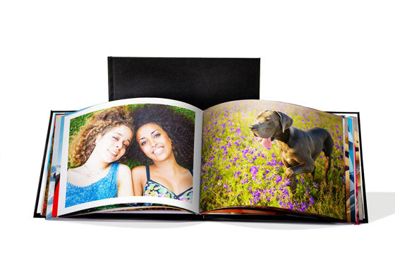 "11"" x 8.5"" Leather Photo Book  (20 Pages) 