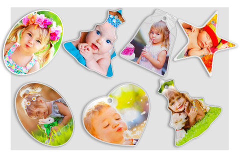 10 Photo Ornaments