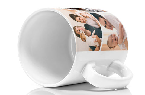4 Photo Mugs 11oz