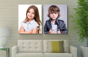 "30"" x 20"" Photo Canvas x 2