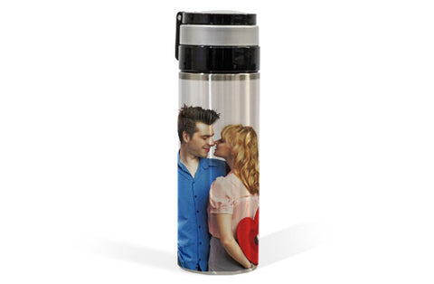 Stainless Steel Thermal Photo Bottle 12.5oz