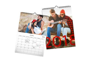 "8.5"" x 11"" Wall Calendar