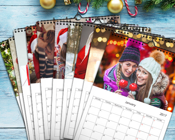 "8.5"" x 11"" - 10 Wall Calendars