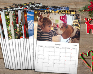 "8.5"" x 11"" - 25 Wall Calendars