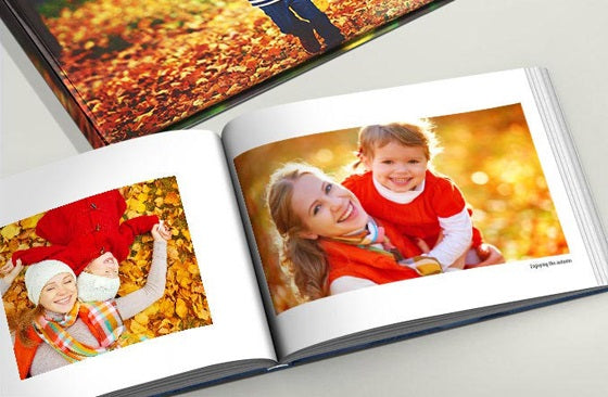 11'' x 8.5'' Hardcover Book (60 Pages)|73|Wintersale