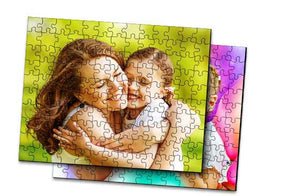 "2 x Wooden Jigsaw Puzzle- 10""x7""
