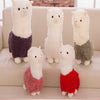 Image of Sheep Alpaca Plush Toy Cushion