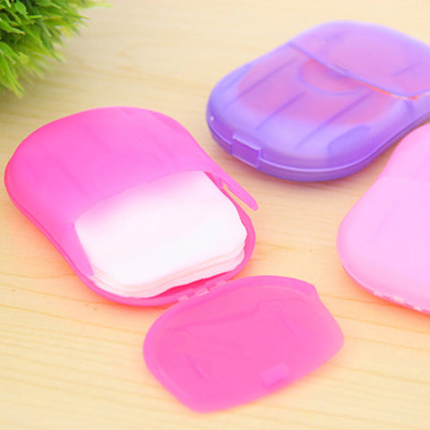 Hand Washing Slice Scented Foaming Paper Soaps