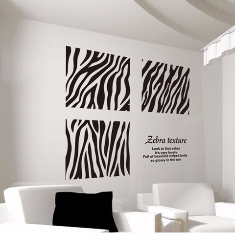 Zebra Wall Stickers