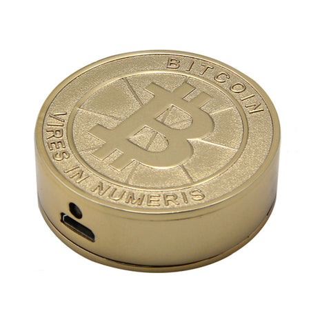 Novelty Bitcoin Electronic USB Lighters