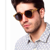 Image of Classic Vintage Round Sunglasses