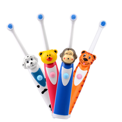 Soft Silicone Kids Training Teether Electric Toothbrush