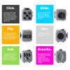 Image of Mini Fidget Cube Camouflage Fun Stress Reliever