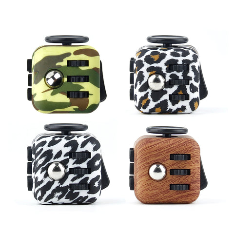 Mini Fidget Cube Camouflage Fun Stress Reliever