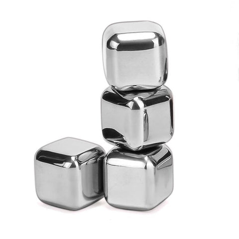 Stainless Steel Reusable Cooling Ice Cubes