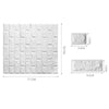 Image of Foam 3D Brick Wall Stickers