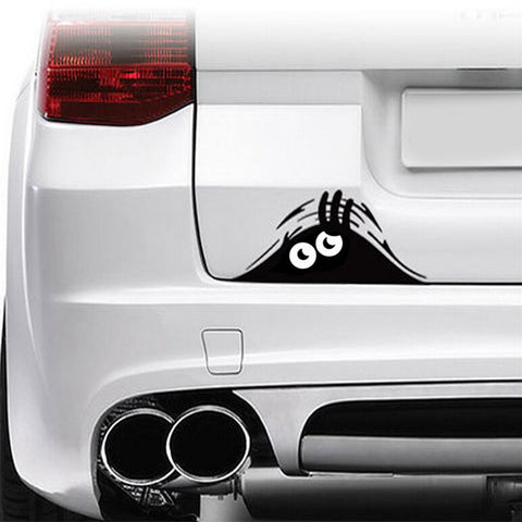 Creeping Eyes Trunk Decal