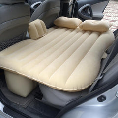 Car Flocking Inflatable Air Mattress Bed Cushions