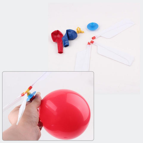 Airplane Aircraft Flying Balloons