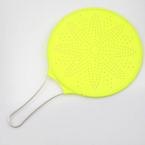 Non-Stick Silicone Splatter Screen Strainer