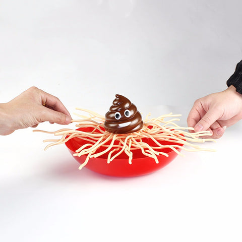 """Poop In My Spaghetti"" Novelty Game"