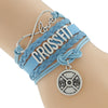 "Image of ""Crossfit"" Leather Wrist Wrap"