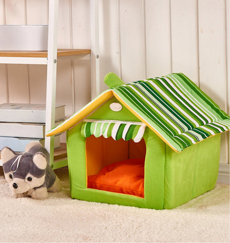 High Quality Portable Dog Bed and House