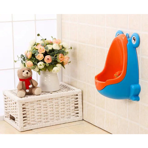 Boys Urinal Training Animals