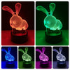 Image of 3D Rabbit LED Nightlight