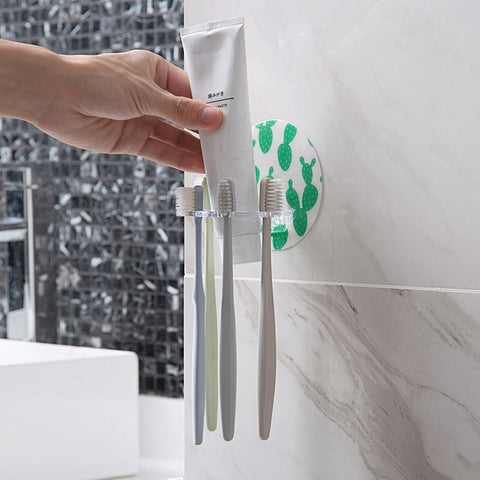 1PC Plastic Toothbrush Holder