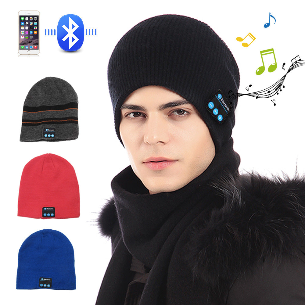 fac6427e15f Wireless Bluetooth Smart Beanie · Wireless Bluetooth Smart Beanie ...