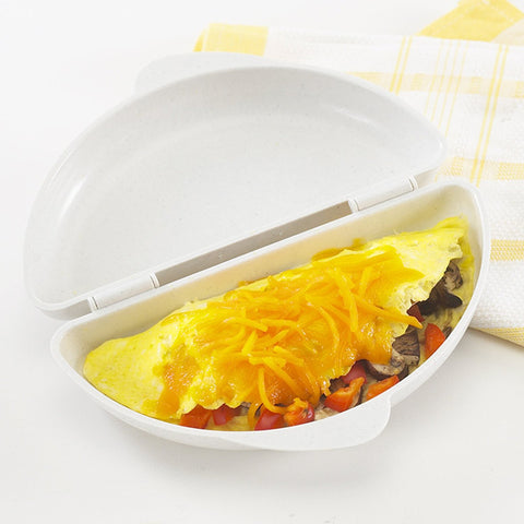 Microwave Omelet Egg Steamer Cooker Pan