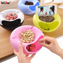 Dual Level Snack Bowl