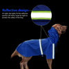 Image of Reflective Waterproof Dogs Raincoat