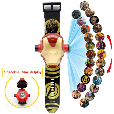 3D Projection Cartoon Watch